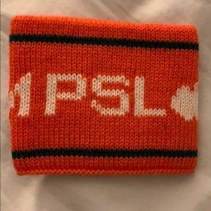 Starbucks Team PSL Pumpkin Spice Sweater Koozie